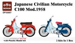 Honda C-100 Motorcycle