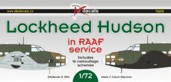 Lockheed Hudson in RAAF service