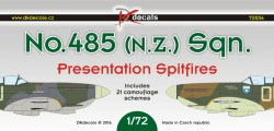 No.485 (NZ) Sqn - Presentation Spitfires