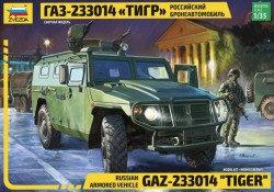 Russian Armored Vehicle GAZ Tiger