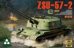 Soviet SPAAG ZSU-57-2 (2 KIT in 1)