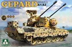 Bundeswehr Flakpanzer 1 Gepard SPAAG A1/ /A2 2in1