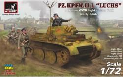 Pz.Kpfw.II Ausf.L Luchs, German WWII Light Recon Tank