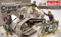 French FT-17 Light Tank Crew & Orderly