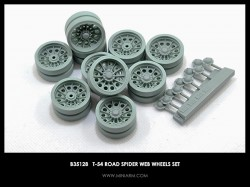 T-54 Road Spider web wheels set
