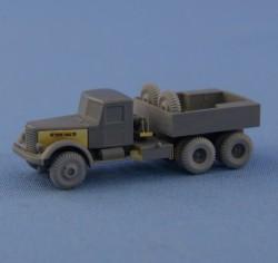 YaAZ-210G Soviet 6×4 heavy airfield ballast tractor