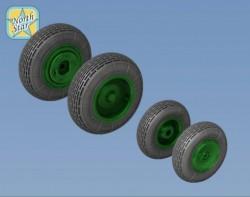 Mi-8, Mi-17 wheels No Mask series