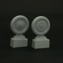 Wheels set for Soviet Polikarpov I-16 Light mask 1/32