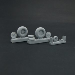 North American P-51 Mustang wheels set - No Mask series 1/32