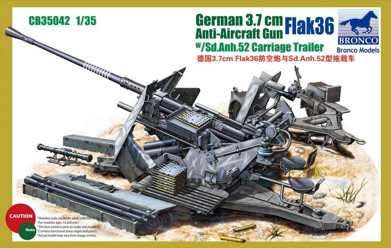 German 3.7cm Flak36