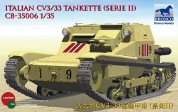 Italian CV L3/33 Tankette (Serie II)