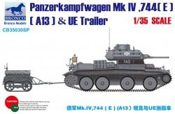 Panzerkampfwagen Mk.IV,744(E)(A13)& UE Trailer