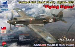 Curtiss P-40C (Hawk 81-A2) Fighter -AVG Flying Tigers