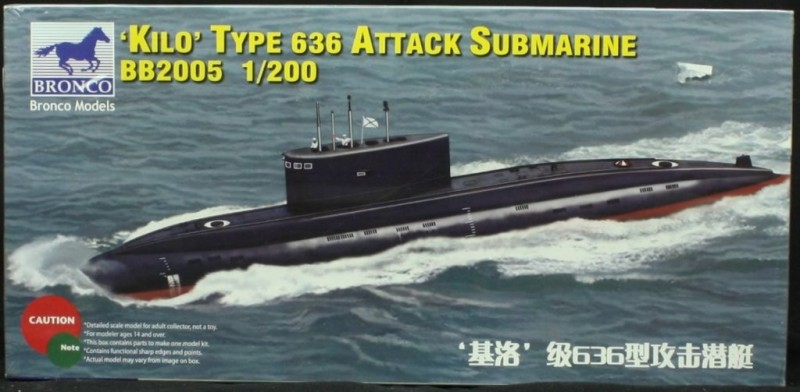 Russian Kilo Type 636 Attack Submarine