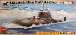 Russian Akula II Class Attack Submarine `K335 Giepard'