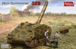 28cm Sturmmörser Panzer 38D