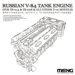 Russian V-84 Engine (for TS-014 & TS-028 & all other T-72 Models)