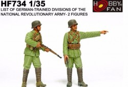 List of German-trained divisions of the National Revolutionary Army-2 resin figures