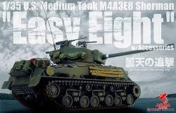 U.S.Medium Tank M4A3E8 Sherman EasyEight w/Accessories
