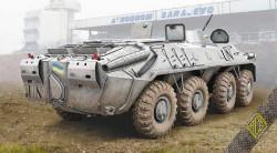 BTR-70 late Soviet APC (rubber tyres)