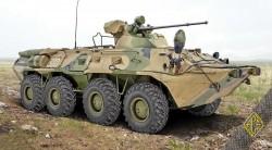 BTR-80A Russian APC