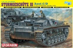 STURMGESCHÜTZ 7.5cm KANONE (Sd.Kfz.142) Ausf.C/D (Smart Kit)