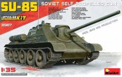 SU-85 Mod.1943 (Mid Production) w/Full Int.