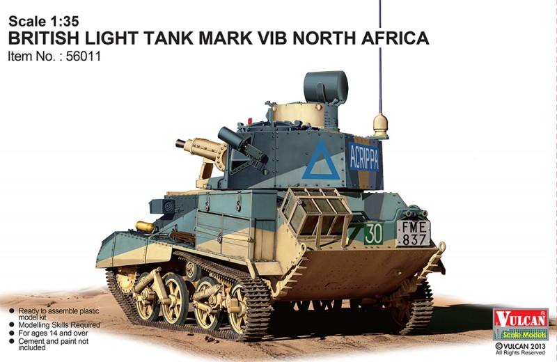 British Light Tank MK.VI B North Africa