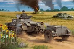 Munitionsschlepper auf Panzerkampfwagen I Ausf A with Ammo Trailer
