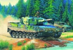 German  Leopard  2  A4  tank