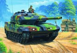 German  Leopard  2  A6EX  tank