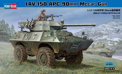 LAV-150 APC 90mm Mecar Gun