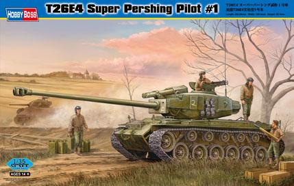 T26E4 Super Pershing, Pilot #1