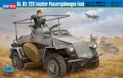Sd. Kfz 223 Leichter PanzerspahwagenFunk