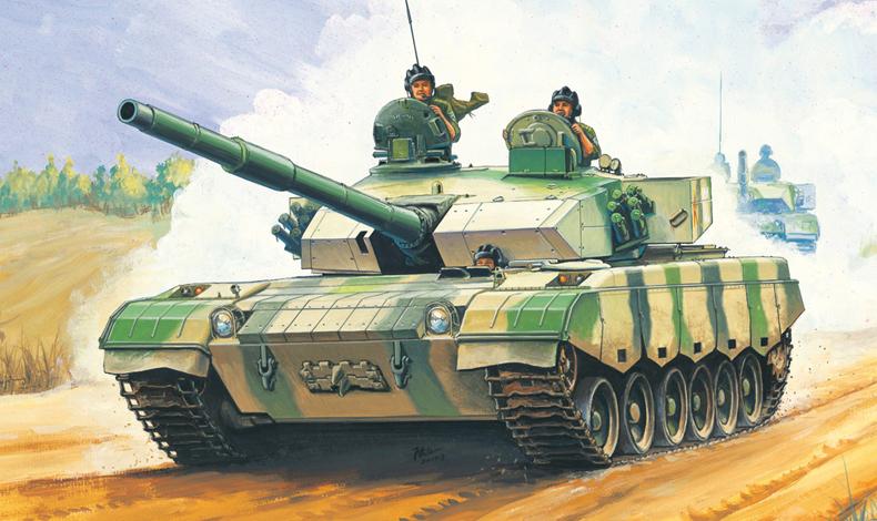 PLA ZTZ96 MBT