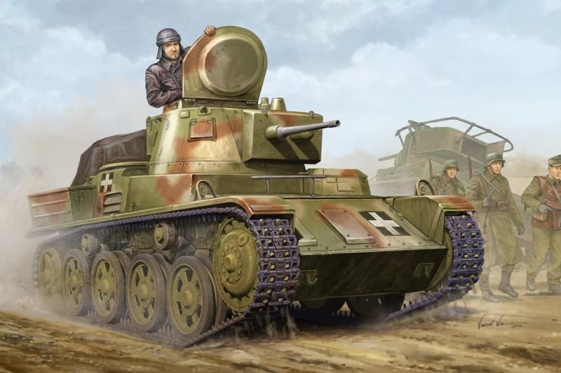 Hungarian Light Tank 38M Toldi II (B40)
