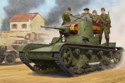 Soviet T-26 Light Infantry Tank Mod.1935