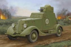 Soviet BA-20 Armored Car Mod.1939