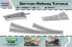 German Railway Turnout