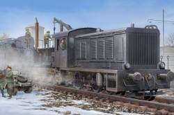 German WR360 C12 Locomotive