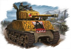 U.S M4A3E8  TANK