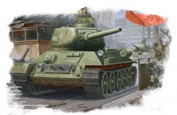 RussianT-34/85(1944 angle-jointed turret) tank