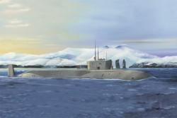 Russ. Navy Proj. 955 Borei-Yuri Dol.SSBN
