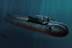 Russian Navy SSGN Oscar II Class Kursk