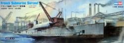 French Surcouf Submarine Cruiser