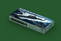 Russian Navy SSN Akula Submarine