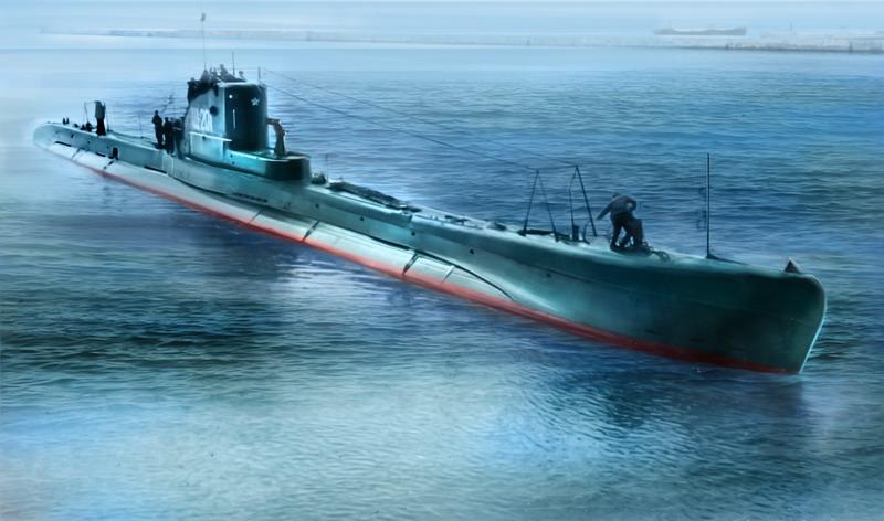 Soviet submarine Shch class series V-bis