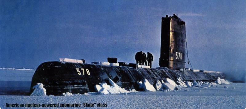 U.S. nuclear-powered submarine Skate class