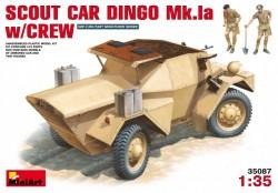 Scout car Dingo Mk 1A with Crew