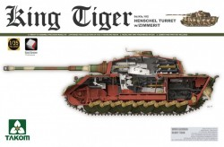 German Heavy Tank Sd.Kfz.182 King Tiger Henschel Turret w/Zimmerit
